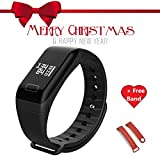 L8star for Family Sale Sport wristband Fitness Activity Tracker Sports Watch Smart Bracelet Pedometer Fitness Watch with Heart Rate Monitor/GPS/Step Counter/Sleep Monitor for Android and IOS