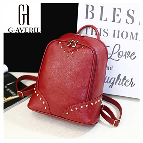 G-AVERIL GA1154-Q, Borsa a zainetto donna grigio Grey Pink