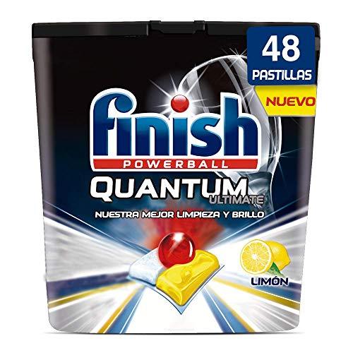 Finish Quantum Ultimate Detergente Lavavajillas Limón