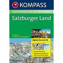 Salzburger Land 3D: Digitale Wander-, Rad- und Skitourenkarte. GPS-genau. (KOMPASS Digitale Karten)