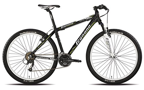 LEGNANO BICICLETA 630 CORTINA 27 5 DISCO 21 V TALLA 38 NEGRO (MTB CON AMORTIGUACION)/BICYCLE 630 CORTINA 27 5 DISC 21S SIZE 38 BLACK (MTB FRONT SUSPENSION)