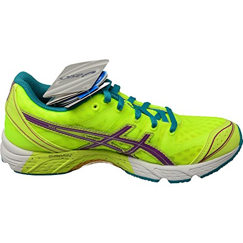 Asics running chaussures Gel DS-Racer 9 Women Flash Yellow/Purple-Tile Jaune