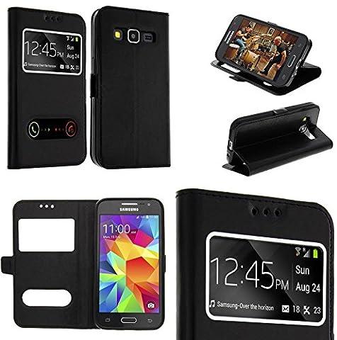 Coque Samsung Galaxy S6 Edge Noir - Coque Samsung Galaxy S6 EDGE noir housse