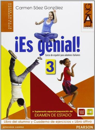¡Es genial. Per la Scuola media! Con DVD. Con espansione online: 3