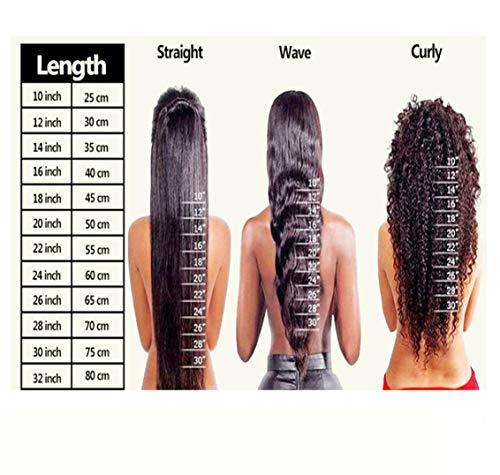 FMEZY Vor der Spitze Chemiefaser Perücke Kopf langes Haar glattes Haar Set kann angepasst Werden europäischen und amerikanischen Mode Perücke, 20 Zoll Spitze - Europäische Spitze Perücke