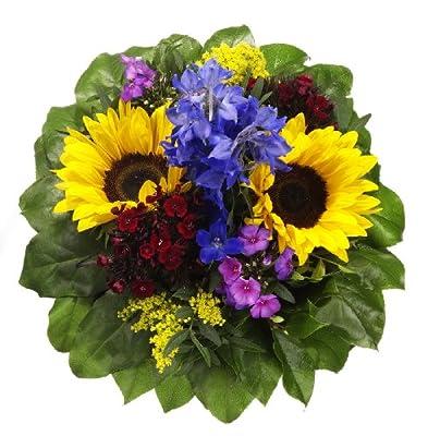 """Blumenstrauß """"Sommersonne"""" mit Sonnenblumen von Amazon.de Pflanzenservice auf Du und dein Garten"""