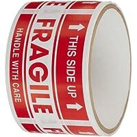 "tapecase shiplbl-043–50""Fragile, este Side Up Etiqueta–50Per Pack (1Pack)"