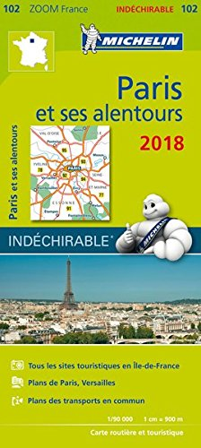 Descargar Libro Carte Zoom 102 Paris et Ses Alentours 2018 de Unknown