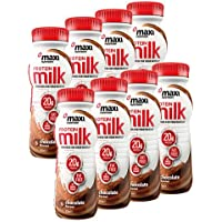 MaxiNutrition Protein Milk, Chocolate, 250 ml, Pack of 8