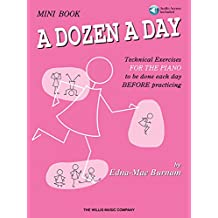 A Dozen A Day Mini Book: Book/CD Pack: Noten, CD für Klavier (Dozen a Day Songbooks)