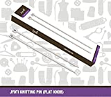 Best Knitting - Jyoti Aluminium Knitting needle with 6 to 12 Review