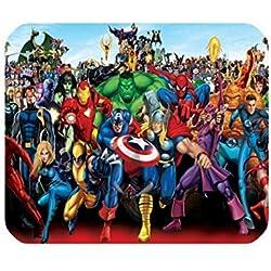 Los Vengadores Ironman Capitán América alfombrilla de ratón alfombrilla para ratón ordenador portátil Gaming Mice alfombra de juegos Mousepad casa/oficina