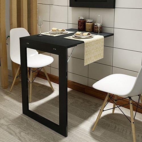 Tavoli Da Pranzo A Parete Nero Tavolino Pieghevole da Scrivania Biliardo in Stile Europeo