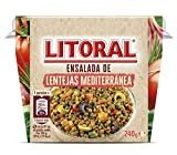 Litoral Ensalada de lentejas mediterranea - Pack de 6