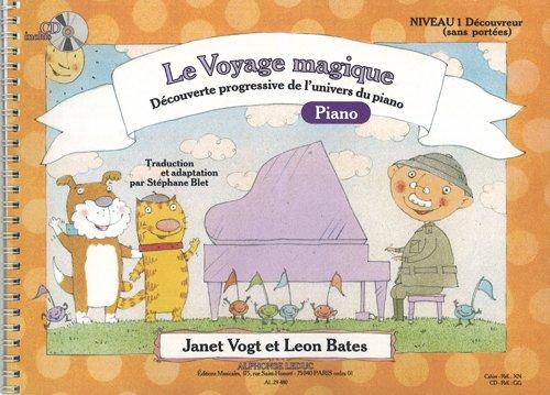 Bates: le Voyage Magique (Traduction et Adaptation par Stephane Blet) Niveau 1 (Sans Portees) - Deco