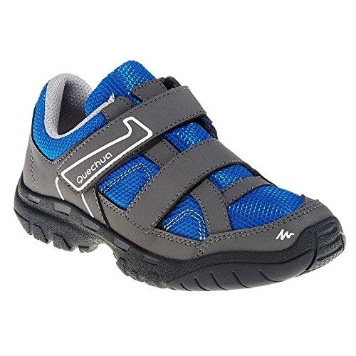 Quechua Arpenaz 50 Ribtab Shoes, Junior 8.5 UK (Blue)