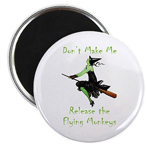CafePress Don 't Make Me Release die fliegenden Affen Magnet–Standard mehrfarbig