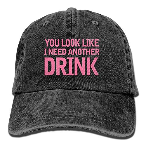 Desing shop You Look Like I Need Another Drink Adjustable Cotton Hat