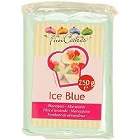 pâte d\'amande- ice blue- Funcakes