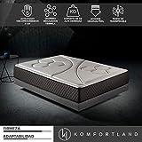 Best Las camas tienen colchones viscoelásticos - Komfortland Colchón 90x190 viscoelástico Memory Vex Foam de Review