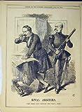 1866 Uomini Rivali degli Arbitri che Leggono il Soldato Di Carta della Pistola del Fucile