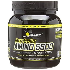 51C01CKsNoL. SS300  - Olimp Anabolic Amino 5500 Mega Capsules - Pack of 400 Capsules