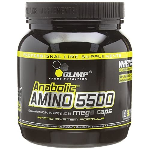 Olimp Anabolic Amino 5500 Mega Capsules – Pack of 400 Capsules