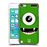 Die besten Ipod 5 Hüllen 1 Stück - Head Case Designs Grün Fröhlich Monster Ruckseite Hülle Bewertungen