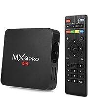 Sterling Android 7.1 TV Box 1GB RAM/8GB ROM 64 Bit Quad Core Wi-Fi UHD Smart TV Set Top Box - Black