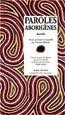 Paroles aborigènes par Johnson