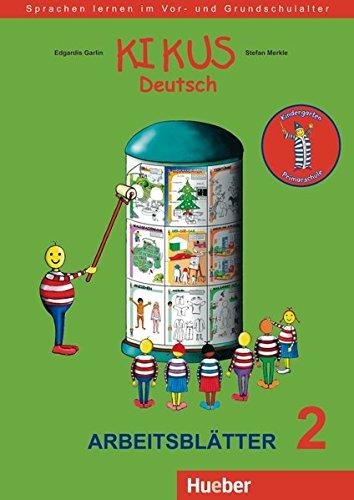 KIKUS 2 Arbeitsblätter (fichas ejerc.) por Edgardis Garlin
