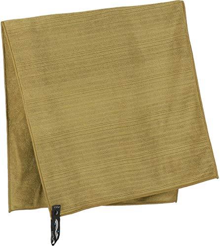 PackTowl - Luxe - Outdoor- & Sporthandtuch aus Mikrofaser, Farbe Packtowl:Bronze, Größe Packtowl:Hand (42 x 92 cm)