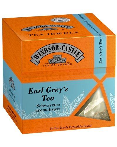 Windsor-Castle Earl Grey's Tea Jewel, Pyramidenbeutel, 18er, 35 g