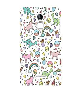 printtech Funky Cute Memes Back Case Cover for Coolpad Note 3