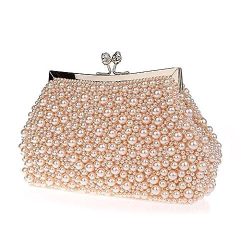 sac à main perlé/Sacs à main douce/ sac de soirée de mode/Paquet de banquet-A