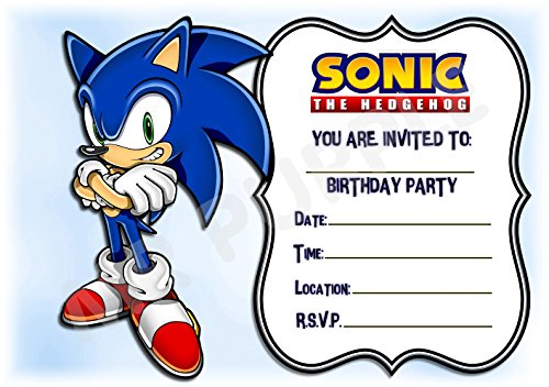Sonic The Hedgehog Birthday Part...