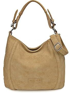 FRITZI AUS PREUSSEN, Damen Handtaschen, Henkeltasche, Umhängetasche, Hobo-Bag, 42 x 28 x 14 cm (B x H x T)