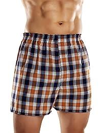 Fruit Of The Loom Men's Fashion Plaid Boxer-Lot de 5