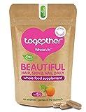 WholeVitTM Beautiful Hair, Skin & Nail Daily Supplement - 60 vegecaps from TogetherHealthLtd