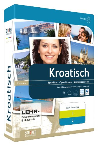 Strokes Easy Learning Kroatisch 1+2 Version 6.0