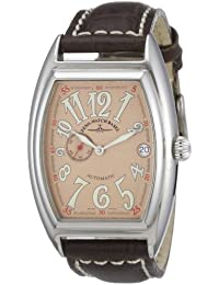Zeno Watch Basel Men's Automatic Watch Tonneau OS 8081-9-h6 with Leather Strap