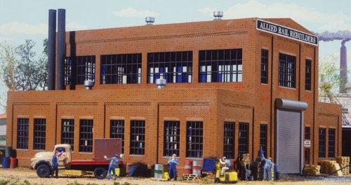 Spur H0 -- Bausatz Fabrik / Werkstatt