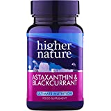 Higher nature, Astaxanthine et Cassis , 90 Capsules
