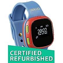 (CERTIFIED REFURBISHED) Alcatel SW10 Kids Watch (Red Case, Blue Strap)