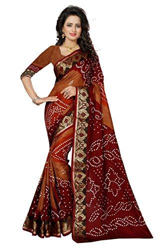 Saree... (Awesome Malticolor Women\'s Bhagalpuri Saree).