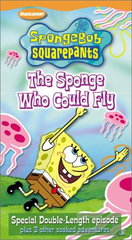 SpongeBob SquarePants - The Sponge Who Could Fly [VHS]