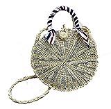 JUND Neu Damen Gehäkelt Handtaschen Fashion Lässig Strandtasche Elegant Umhänge Messenger Bag