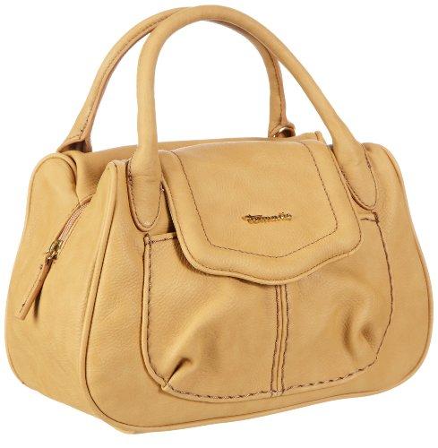 Tamaris Mirijam Bowling Bag A-1-110-11-301, Damen Bowlingtaschen, Gelb (golden yellow 234), 30x21x13 cm (B x H x T)