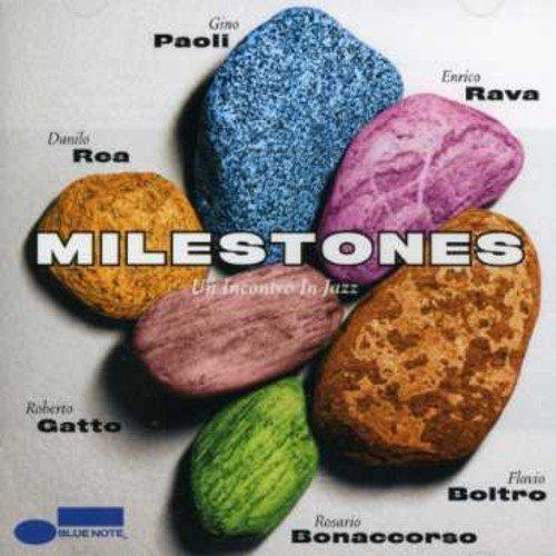 Milestones: Un Incontro in Jazz by Milestones (Gino Paoli) (2007-05-18)