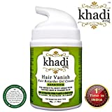 #4: Khadi Global Hair Vanish Sensitive Hair Retarder Gel Cream For Sensitive Body Areas such as Underarm & Bikini Zone With Tender Skin & Coarse Hair, Gives Permanent Freedom From Unwanted Hair, For Both Male & Female, 100% Natural Hair Retarder Extracted From Plants & Vegetations 50gm.